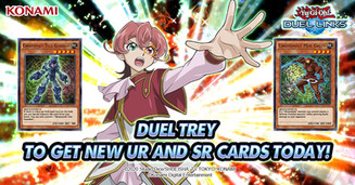 Nick as the voice of Trey in Yu-Gi-Oh! Duel Links