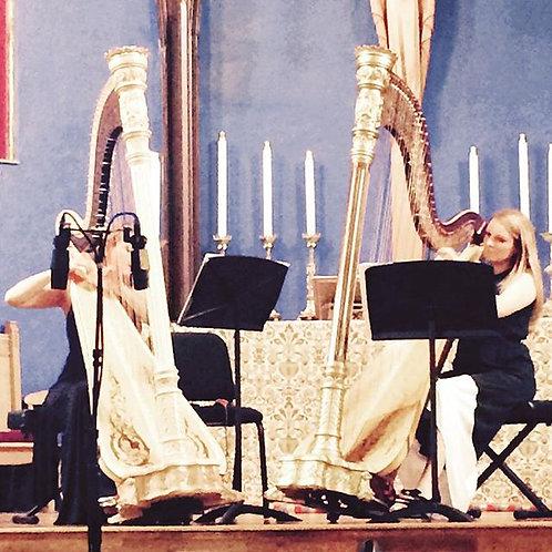 """Magnetic"" for harp duet."