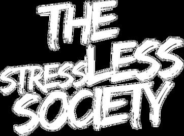 The stressLESS Society WHT_