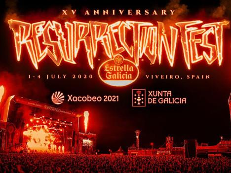 La edición online del Resurrection Fest se aplaza a agosto