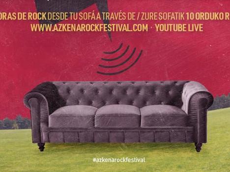 El Azkena Rock programa una edición online