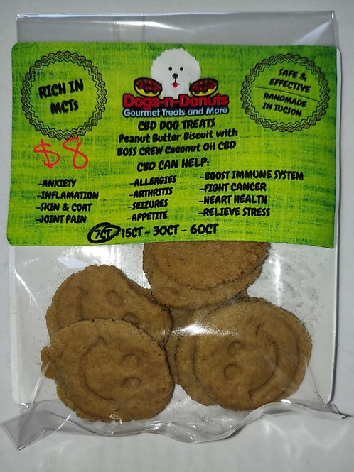 Dogs N Donuts CBD Treats 7 count