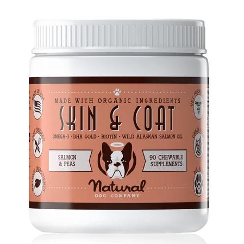 Natural Dog Company Skin & Coat Treats