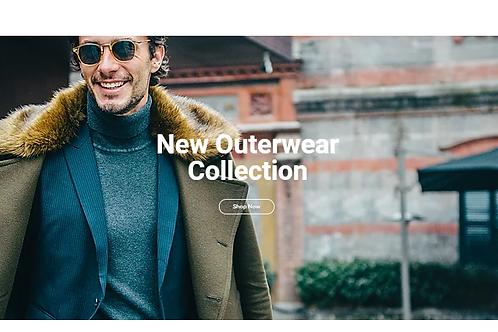Giovanni Menswear(E-COMMERCE)