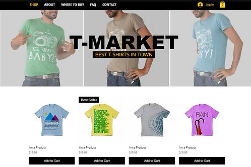 T-MARKET(E-Commerce)