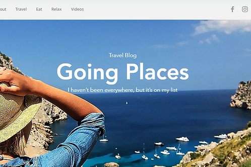 Going Places(BLOG)