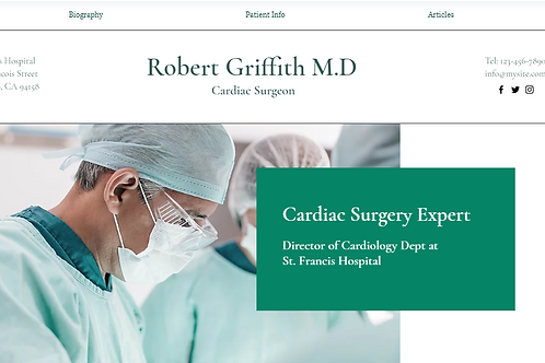 Robert Griffith M.D(Portfolio)