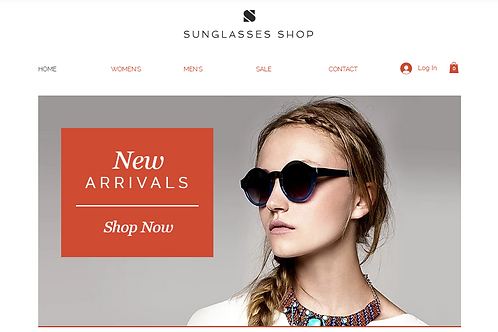 SUNGLASSES SHOP(E-COMMERCE)