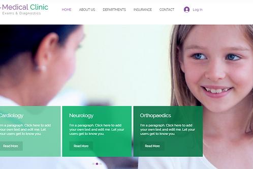 Medical Clinic(portfolio)