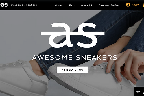AWESOME SNEAKERS(E-COMMERCE)
