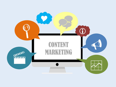 What does content marketing entail?