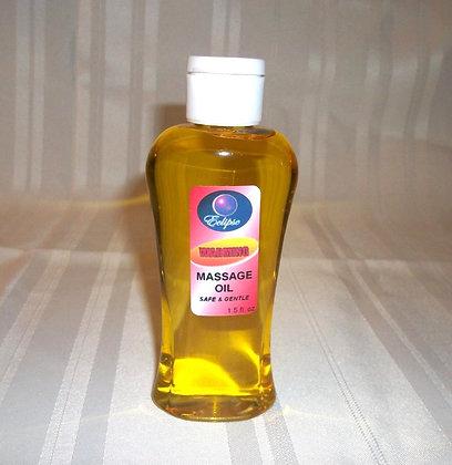 Warming Massage Oil 4oz.