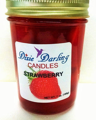 STRAWBERRY GEL CANDLE