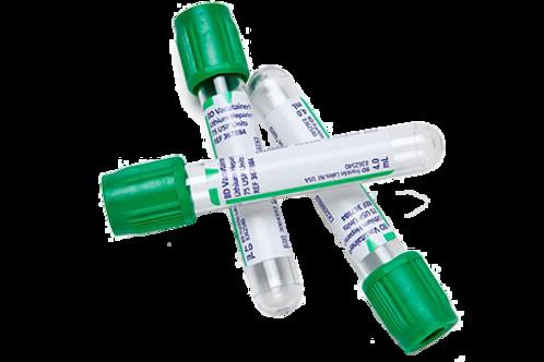 BD Tube vert héparine 6.0ml 368886