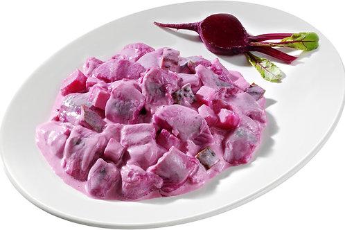 Delikatess-Herings-Salat, rot