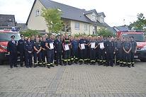 Feuerwehrleistungsabzeichen in Bronze und Silber 2019 in Girkenroth