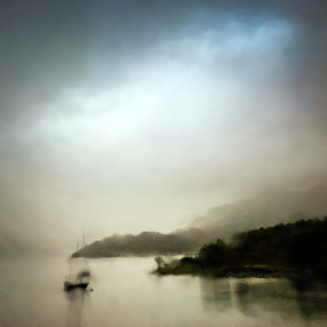 Rainy Window Loch Leven   Malcolm Gamble