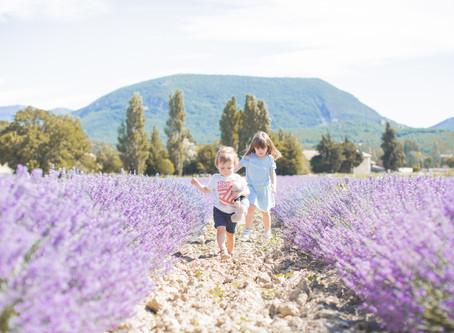 Un weekend en famille au cœur des lavandes de la Drôme