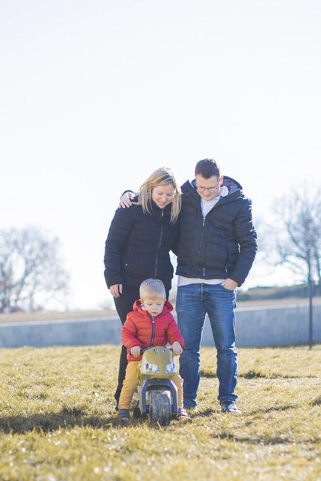 portrait de famille lifestyle à valence
