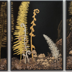 West Coast Chinoiserie Triptych