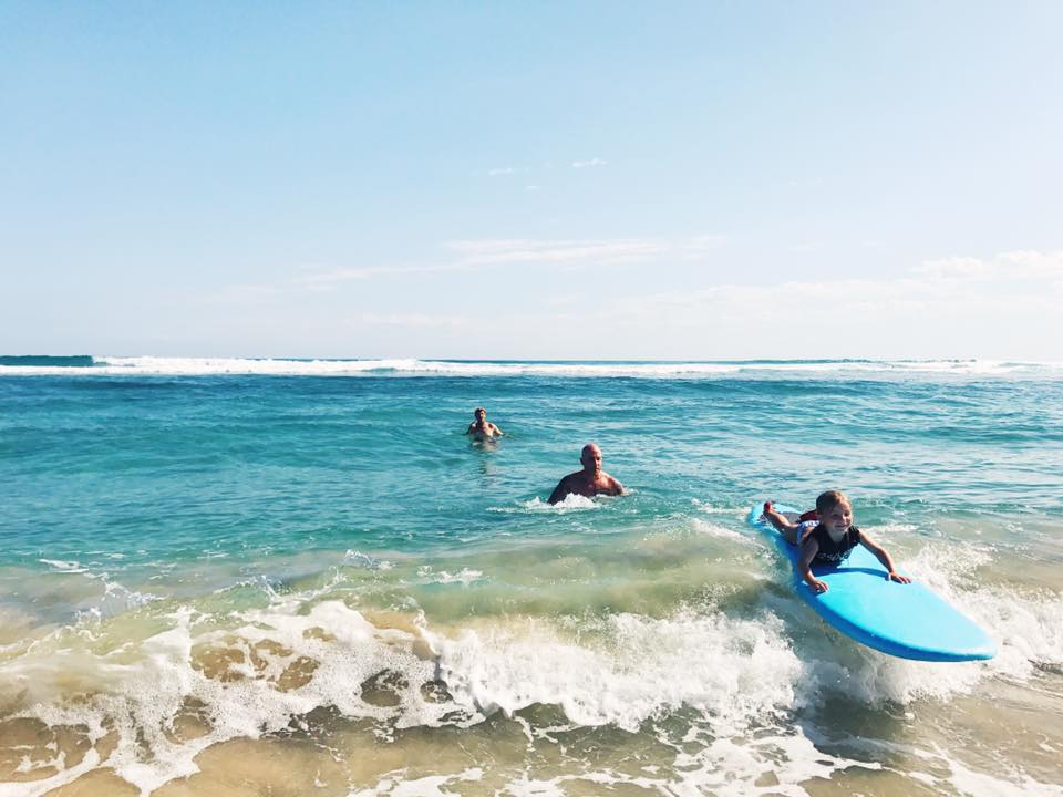 family surfing school
