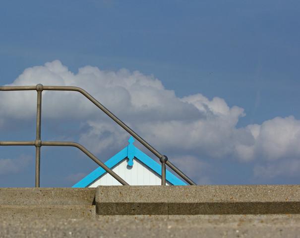 Beach Hut & Railing