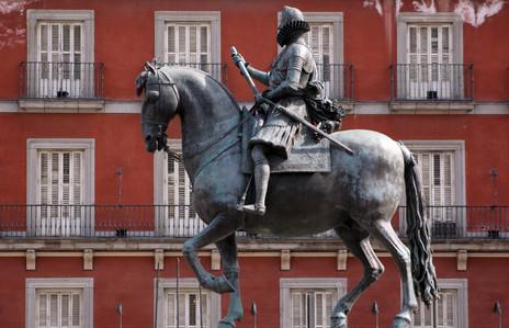 Statue of Felipe III (1616), Plaza Mayor, Madrid