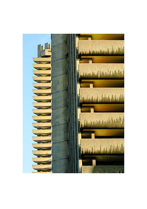 Flats, The Barbican, London