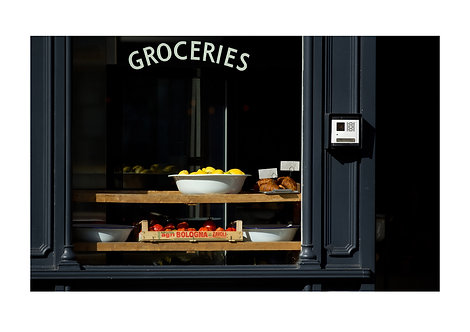 Groceries, London, England