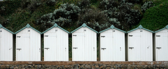 Beach Huts (IV), Devon, England