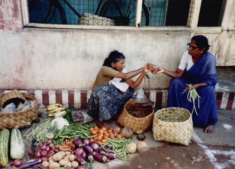 Vegetable Bazaar, Trivandrum, India