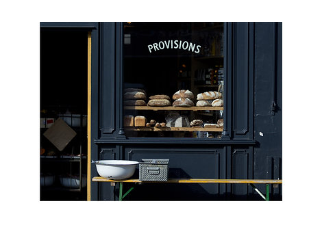 Provisions, London, England