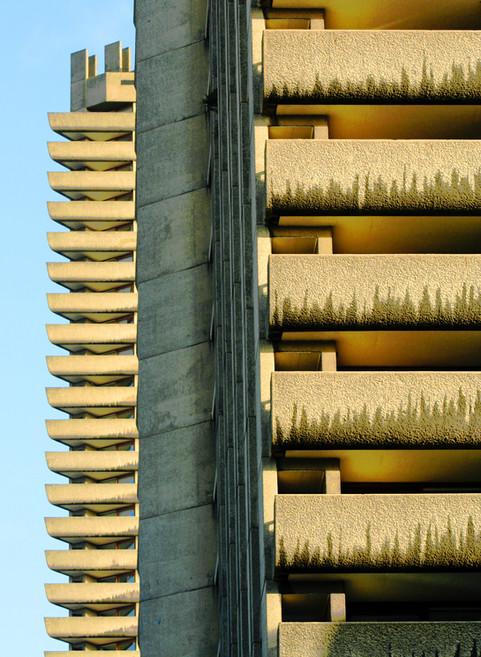 Barbican flats, London