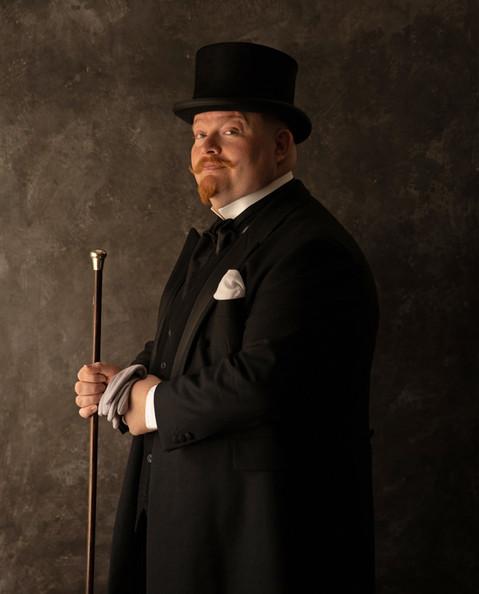 Byron, undertaker and circus showman