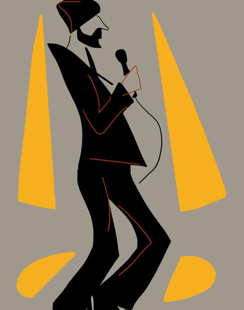 Singer & Microphone