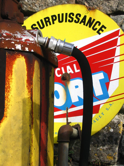 Petrol Pump, SW France