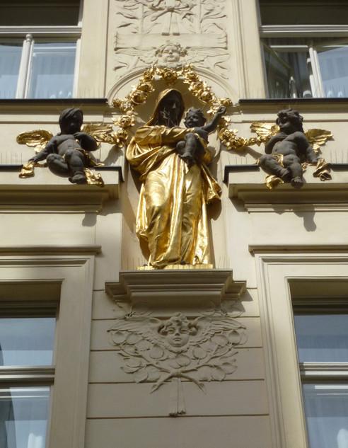 Shrine to the Virgin, Prague