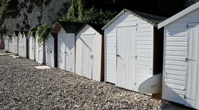 Beach Huts (II), Devon, England