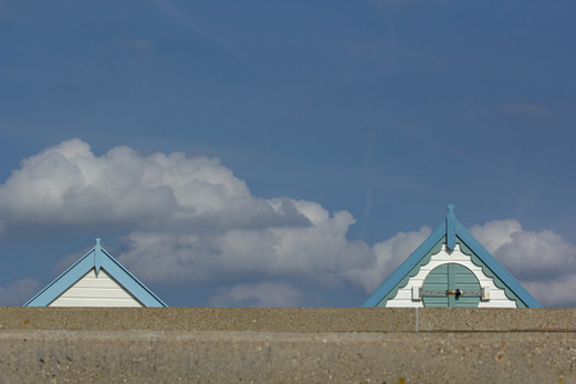 Two Beach Huts, Norfolk