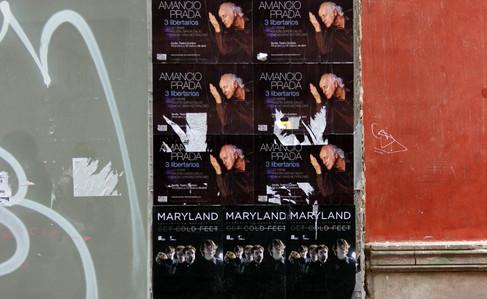 Posters, Seville, Spain