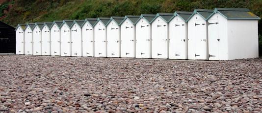 Beach Huts (III), Devon, England