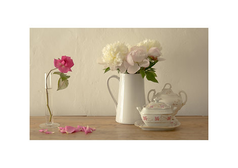 Peonies & Porcelain