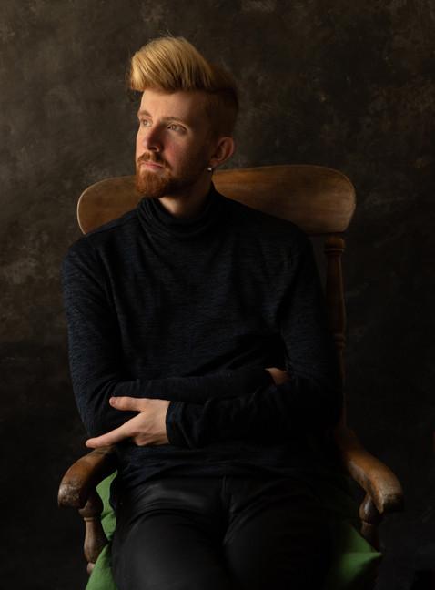 Sam, rocking chair