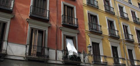Curtain, Madrid
