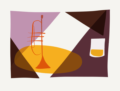 Trumpet & whiskey