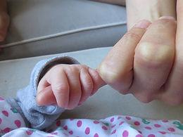 grijpreflex pasgeborene