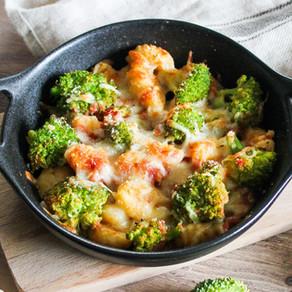 Gratin de gnocchis au brocolis 💚