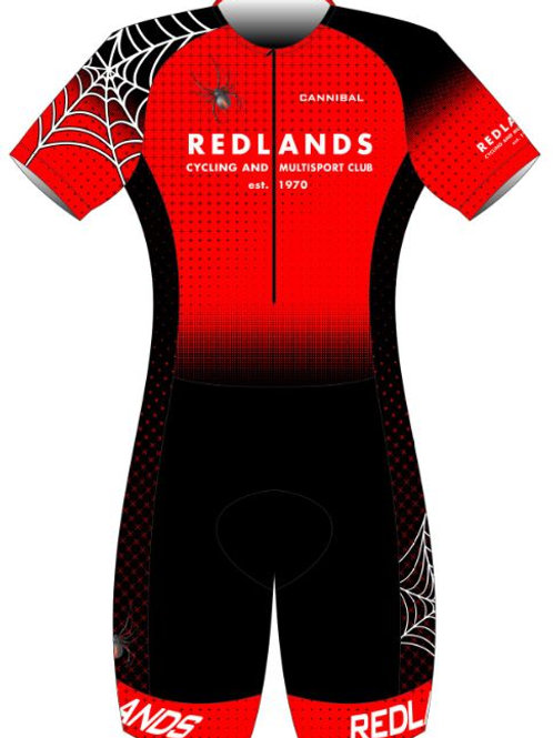 Redlands Elite Tri Suit (Sleeved)