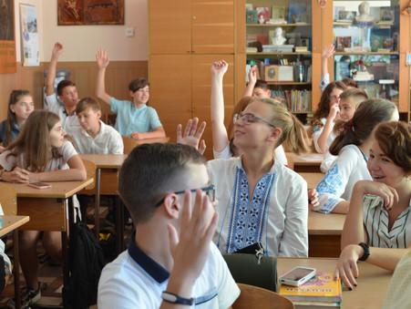 З 1 вересня навчання розпочнеться у звичному режимі!