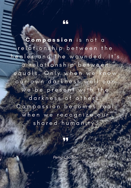 Compassion is not a relationship between